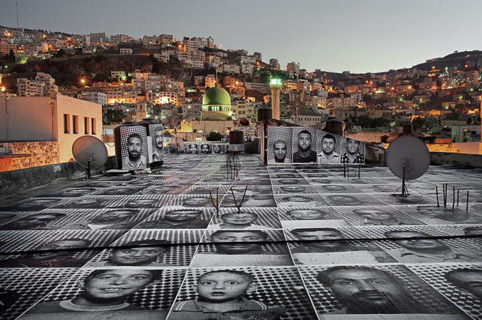 Inside Out, Naplouse, Palestine, 2011  © JR JR