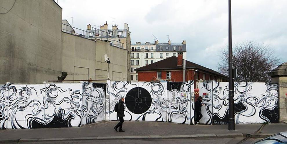 La fresque tournante du Shakiraïl, Un escargot vide, Sébastien Petit © Le Shakiraïl
