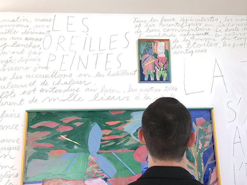 Ce qui nous déborde, la Loire ou la Terre ?, exposition au Centre d'art de Montrelais, 2018 © Formes Vives
