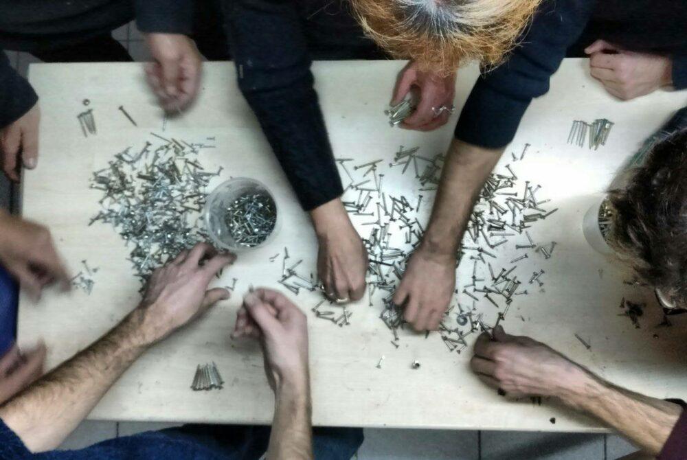 L'Arcanderie, atelier de bricolage collaboratif au 108 © Le 108