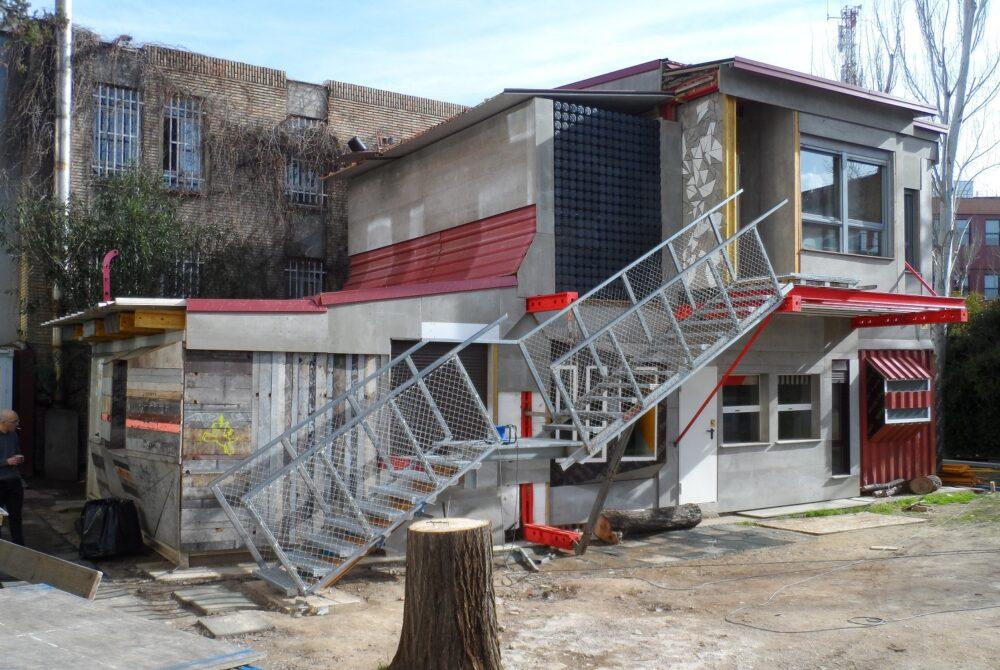 Recetas urbanas, école Crece, Madrid