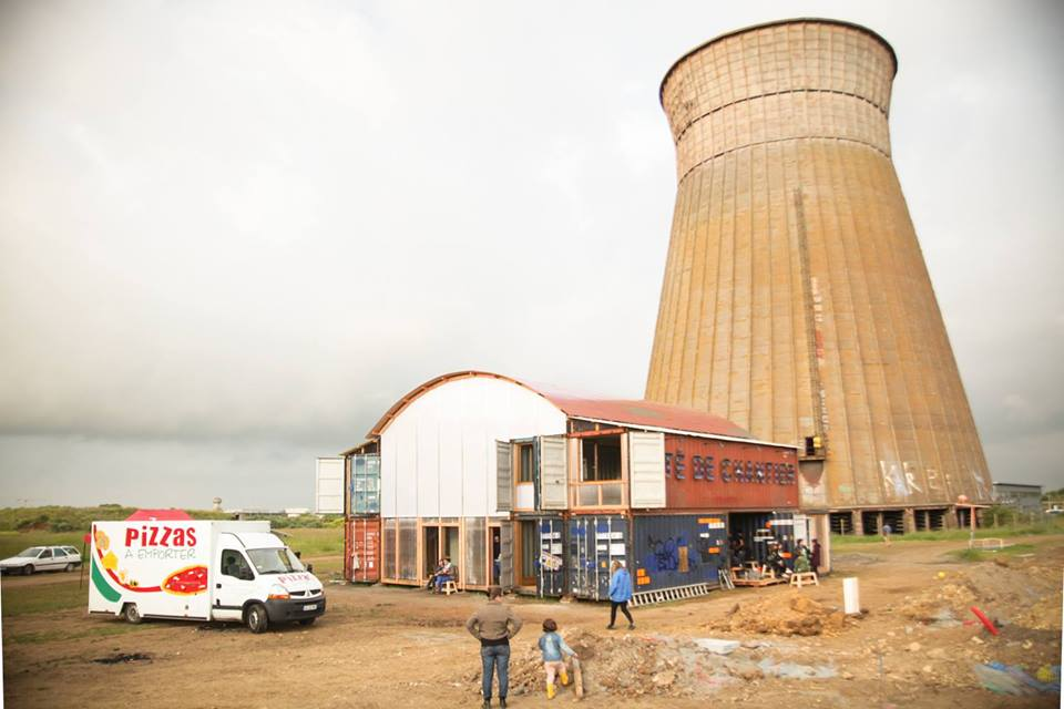 La cité de chantier © WIP