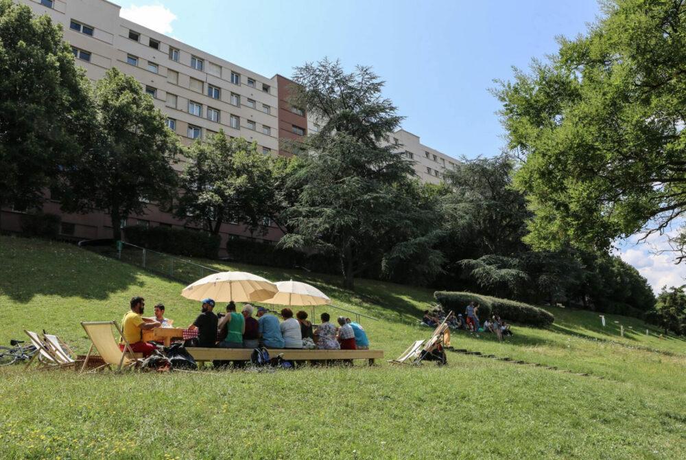 Hospitalité, banquet participatif © Ville de Clermont-Ferrand