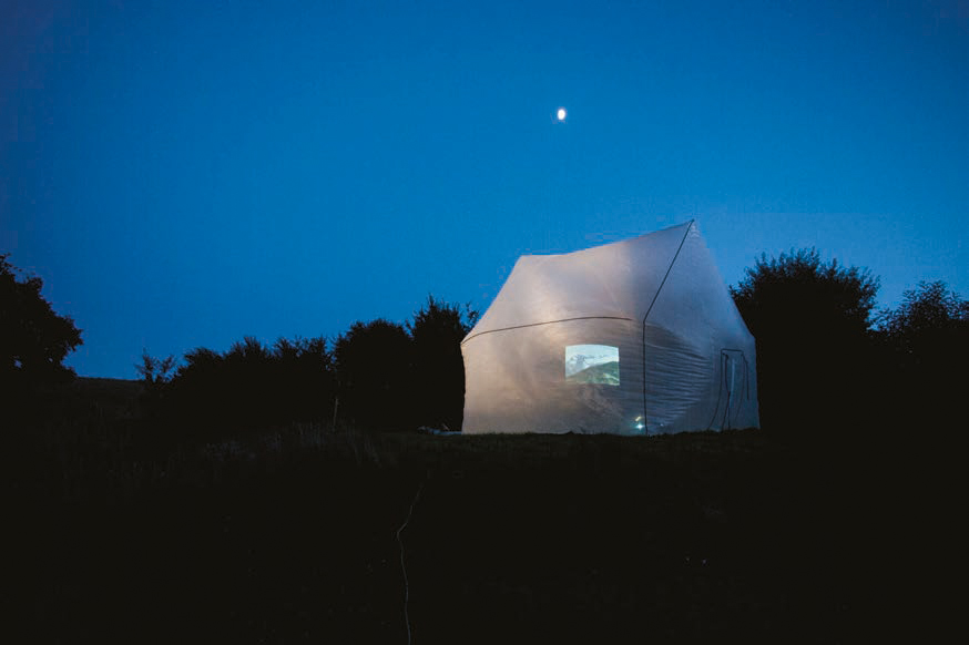 La maison gonflée © Mycelium