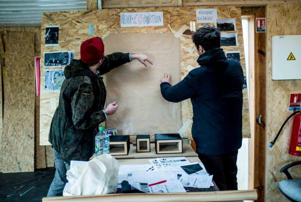 L'Espace imaginaire, Collectif d'architectes Sans Plus Attendre © Anita Pouchard Serra