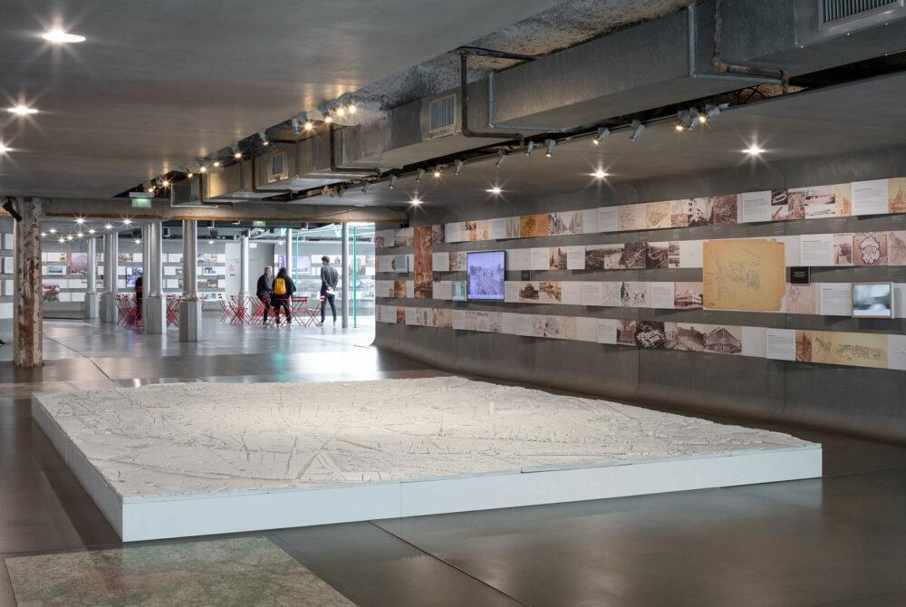 Pavillon de l'Arsenal, exposition Et demain, on fait quoi ? © Pierre Lexcellent